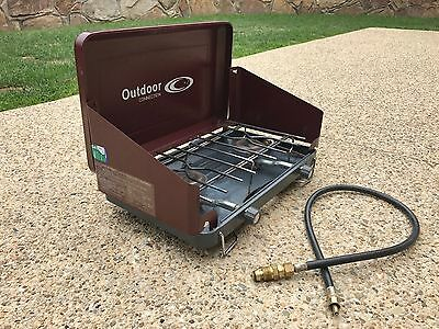 2 Burner Gas Stove - Outdoor Connection