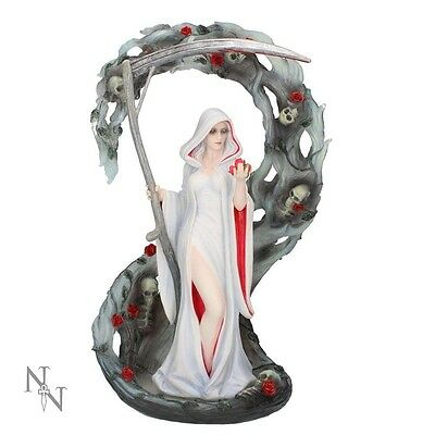 Gorgeous New * Life Blood * Anne Stokes Gothic Figurine Statue By Nemesis Now