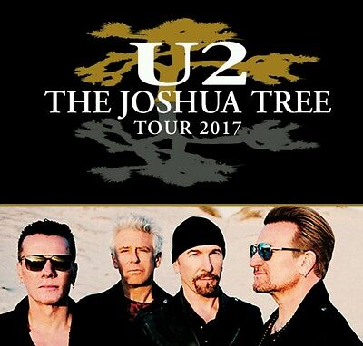 U2 Hotel And 2x Concert Ticket Package - Twickenham London*Great Seats*9th July
