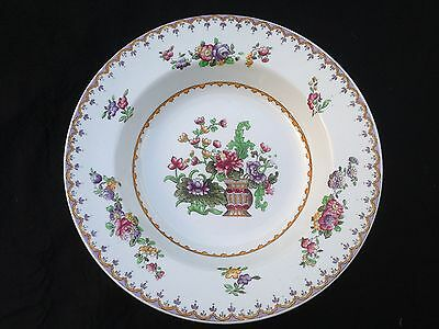 COPELAND late SPODE Peplow rimmed soup dish made for Harrods c1910