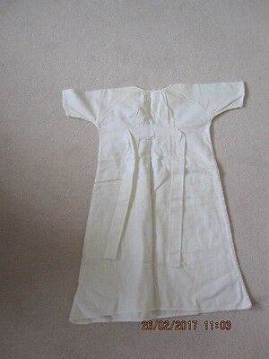 Vintage Baby's Flannelette Nightdress With Embroidered Ducks