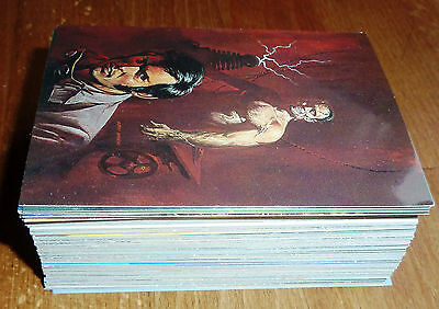 1994, The Beast Within, Ken Barr, collector cards, card set 1-90