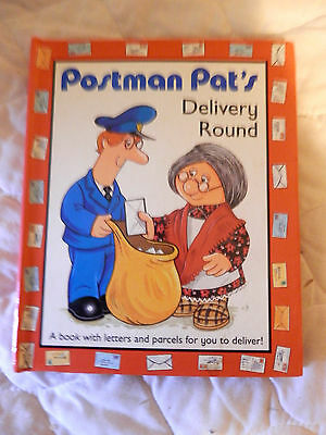POSTMAN PATS POP UP DELIVERY ROUND book(1994)