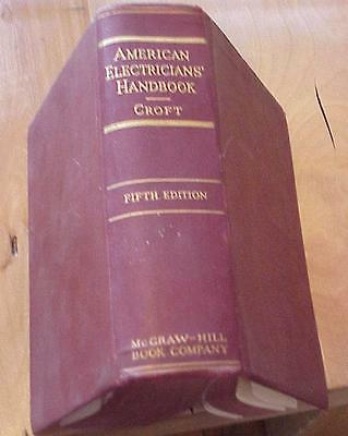 1942 5th ed American Electricians' Handbook by Terrell Croft