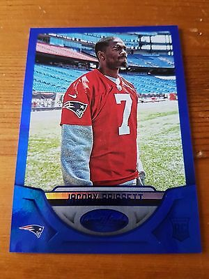 2016 Panini Certified Rookies Mirror Blue #45/50 Jacoby Brissett