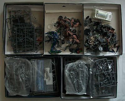 Warhammer 40k Tyranids Bits Box / Spare parts + some Complete Items