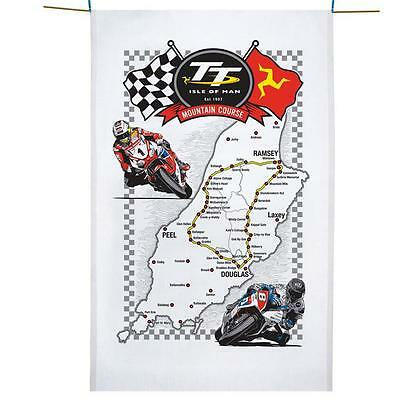 Isle of Man TT Tea Towel. Official TT Isle of Man Merchandise