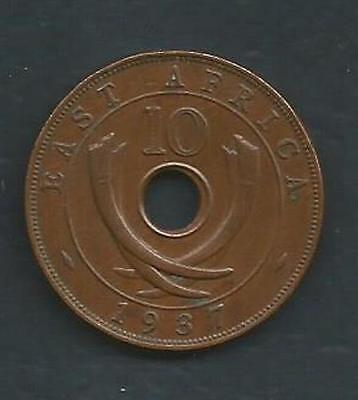 East Africa - 1937 - 10 Cent