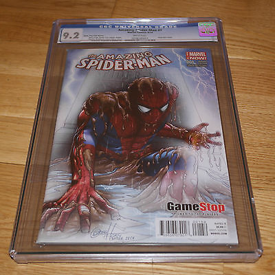 The Amazing Spider-Man #1 'Game Stop Fade Edition' CGC 9.2