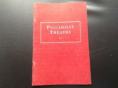 Piccadilly Theatre W1 Programme of Robin Prince of Sherwood 1993
