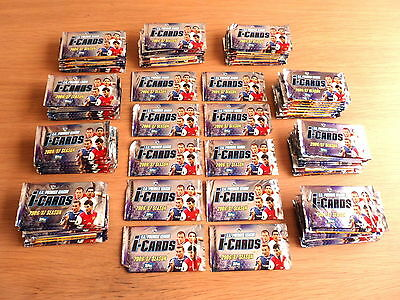 100 new packets of TOPPS premier league 2006/07 I-CARDS (Match Attax / Shoot Out