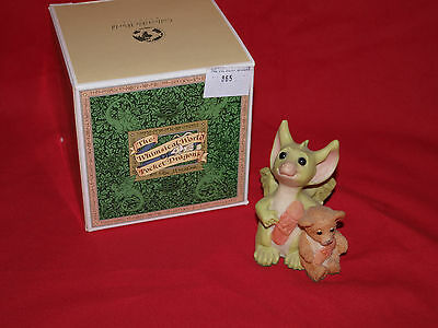 We're Very Brave pocket dragon boxed Rare