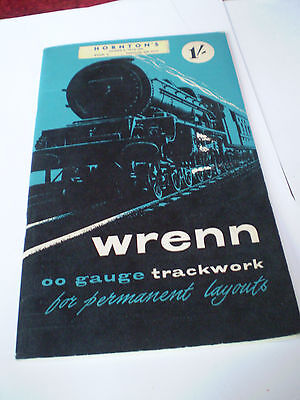 Wrenn Model Railways Rail Layouts 1961 Uk Edition+ P/lists Excellent For Age