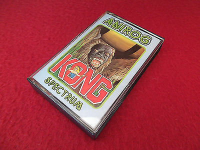 Kong - Anirog - Sinclair ZX Spectrum Game - Tested - SCC - Ref B9