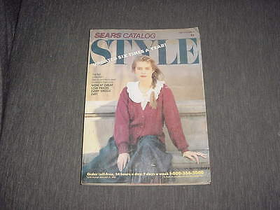 Sears style catalog 1989 the fall collection