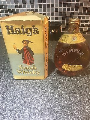 1960 Bottle Of Haigs Dimple Unopened With Box