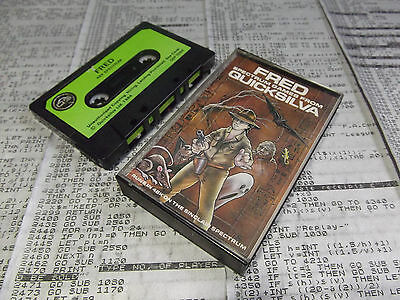 Fred / Quicksilva - Sinclair ZX Spectrum Game /TESTED/SCC/B10