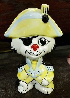 Lorna Bailey NELSON THE CAT 4/6 ltd edn Excellent Condition FREE P&P