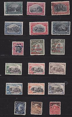 Joblot of  Chilean Stamps   1905/10 part sets and overprints