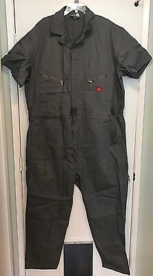 NEW Men's Size 52 R Dickies Mechanics OnePiece Coveralls Jumpsuit Short Sleeve
