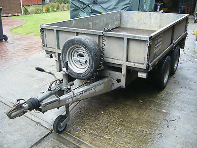 Ifor Williams LM85 drop side trailer