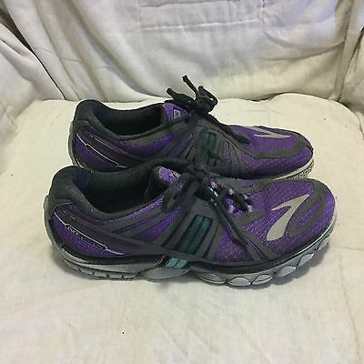 Women's Brooks Pure Cadence #2 Running Shoes - Purple ( Size 7.5 )