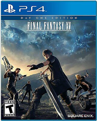 New! FINAL FANTASY XV Day One Edition! PS4 PlayStation 4 Sony NEW!