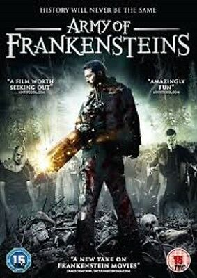Army Of Frankensteins [DVD] NEW AND SEALED