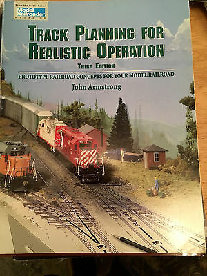 Model Railroader Track Planning for Realistic Operation 3rd edition