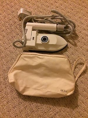 IDE Line Travel Iron With Bag New