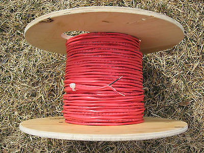 300' Red Fire Security Alarm Cable Wire 16/2 FPLR 16AWG