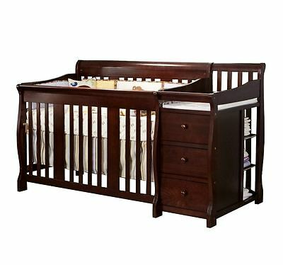 Baby Crib With Changing Table Toddler Bed Daybed Full Size Bed Storage Drawers