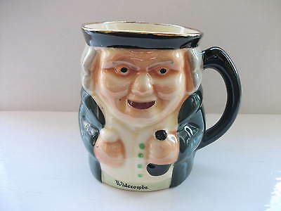 Handpainted 'Widecombe ' Toby style mug by Shorter & Sons