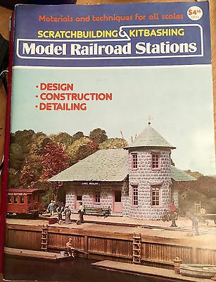 Scratchbuilding and Kitbashing Model Railroad Stations