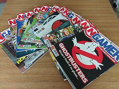N Gamer Nintendo Magazines Complete Year 2008 + Christmas  Issue. 13 Magazines