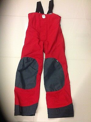 BNW/OT Red Gill OS2 Offshore Sailing Trousers size 10 - RRP £199