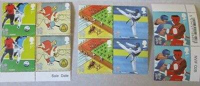 Royal Mail Commemorative Stamp Set - London 2012 Olympics. Mint Condition.