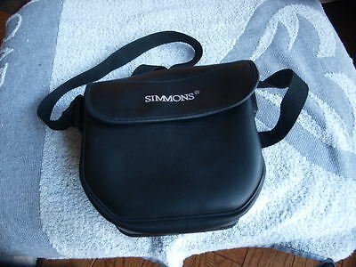 """Simmons Binocular Carrying Case w Shoulder Strap 6"""" x 7""""   Case Only!"""