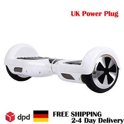 Hoverself Balancing Electric Scooter Balance Board LED Skate Board White Colour