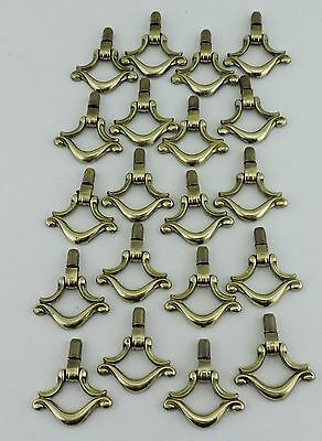 Vintage Drawer Cabinet Pull Handle Brass Or Metal Alloy 20 Lot Hardware