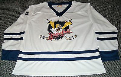 Springfield Homer Simpson Classic Hockey Jersey Mens S The Simpsons Excellent C