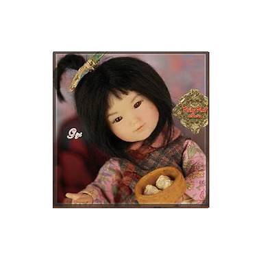 HA0015A GiGi DOLL Winter Solstice Festival Ten Ping's Friend  RUBY RED GALLERIA