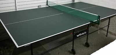 'Butterfly' Table Tennis Table Professional Size (9ftx5ft) w/Accessories