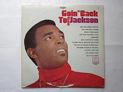 Northern Motown 60's Soul LP-Chuck Jackson-Goin' Back To Chuck Jackson-US Motown