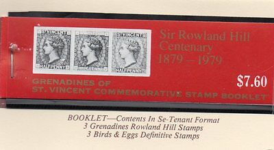 St Vincent Grenadines 1979 Rowland Hill  Booklet Of 6 Stamps