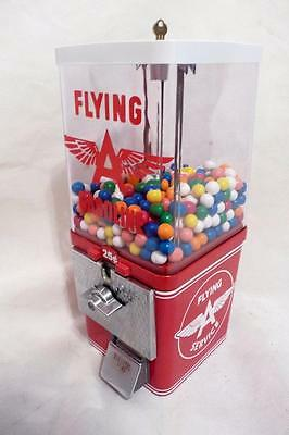 "Flying ""A "" gasoline man cave accessories home decor vintage gumball machine"