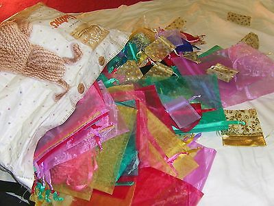 50 + assorted jewellery pouches
