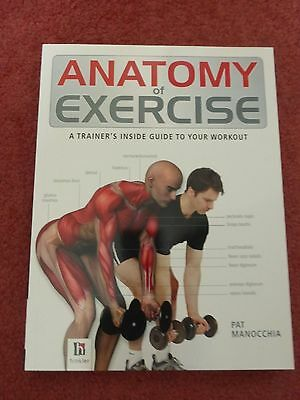 ANATOMY OF EXERCISE book – A Trainer's Guide to Workout – Hinkler