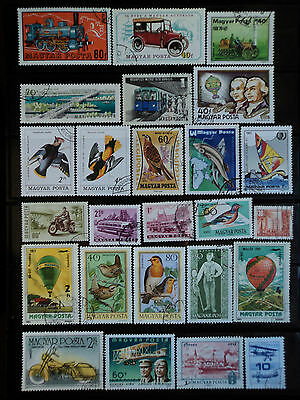 3) Hungary - Magyar - nice lot of stamps used