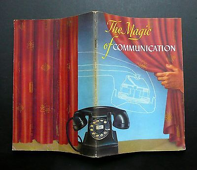 The Magic of Communication - Vintage 1947 AT&T Telephone kitsch education promo